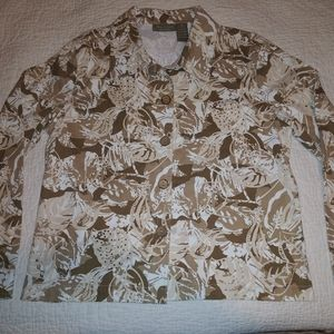 Lovely Jane Ashley Casual Lifestyle Sequined Top